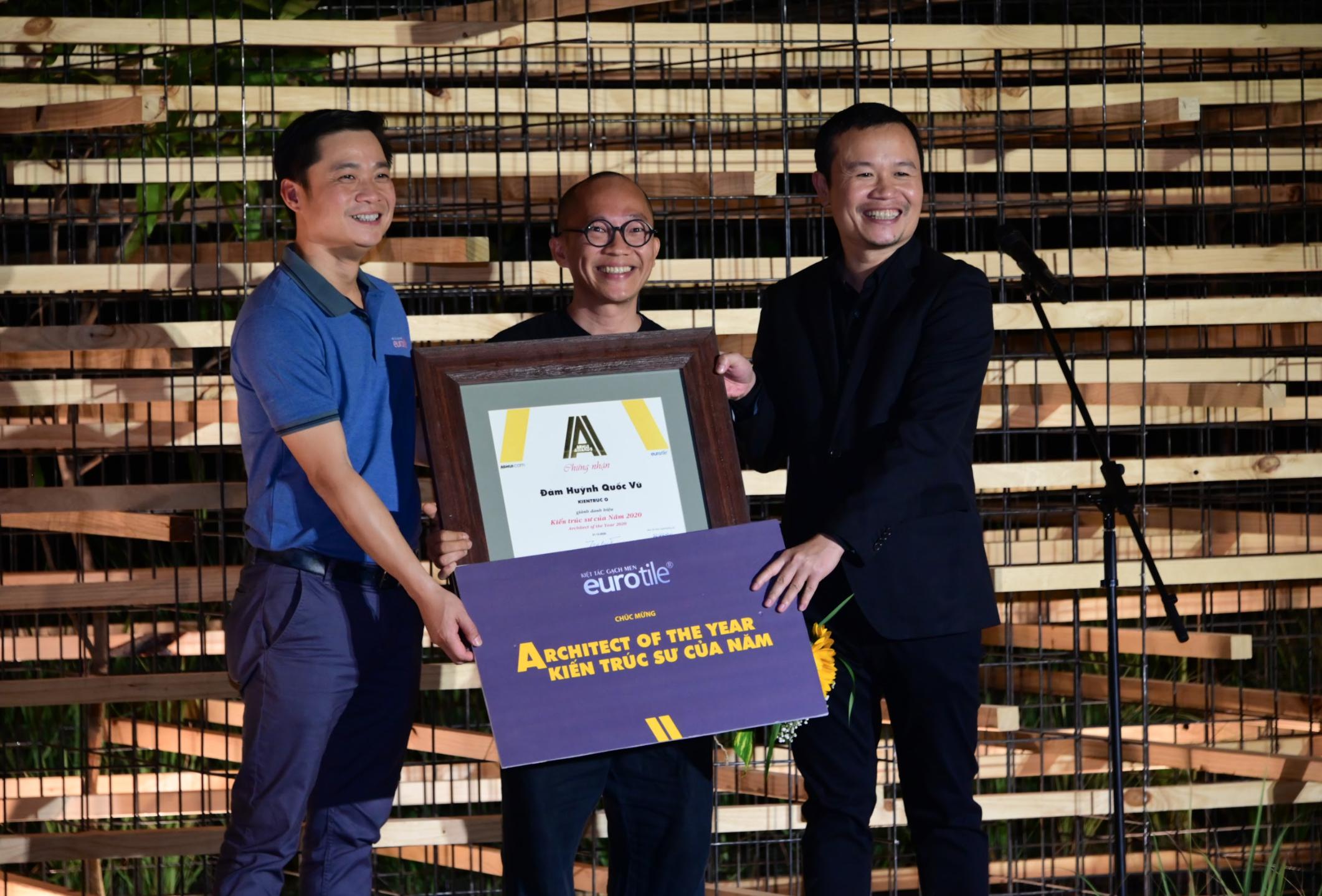 """Eurotile đồng hành cùng Giải thưởng """"Kiến trúc sư của năm"""" tại  Ashui Awards 2020"""
