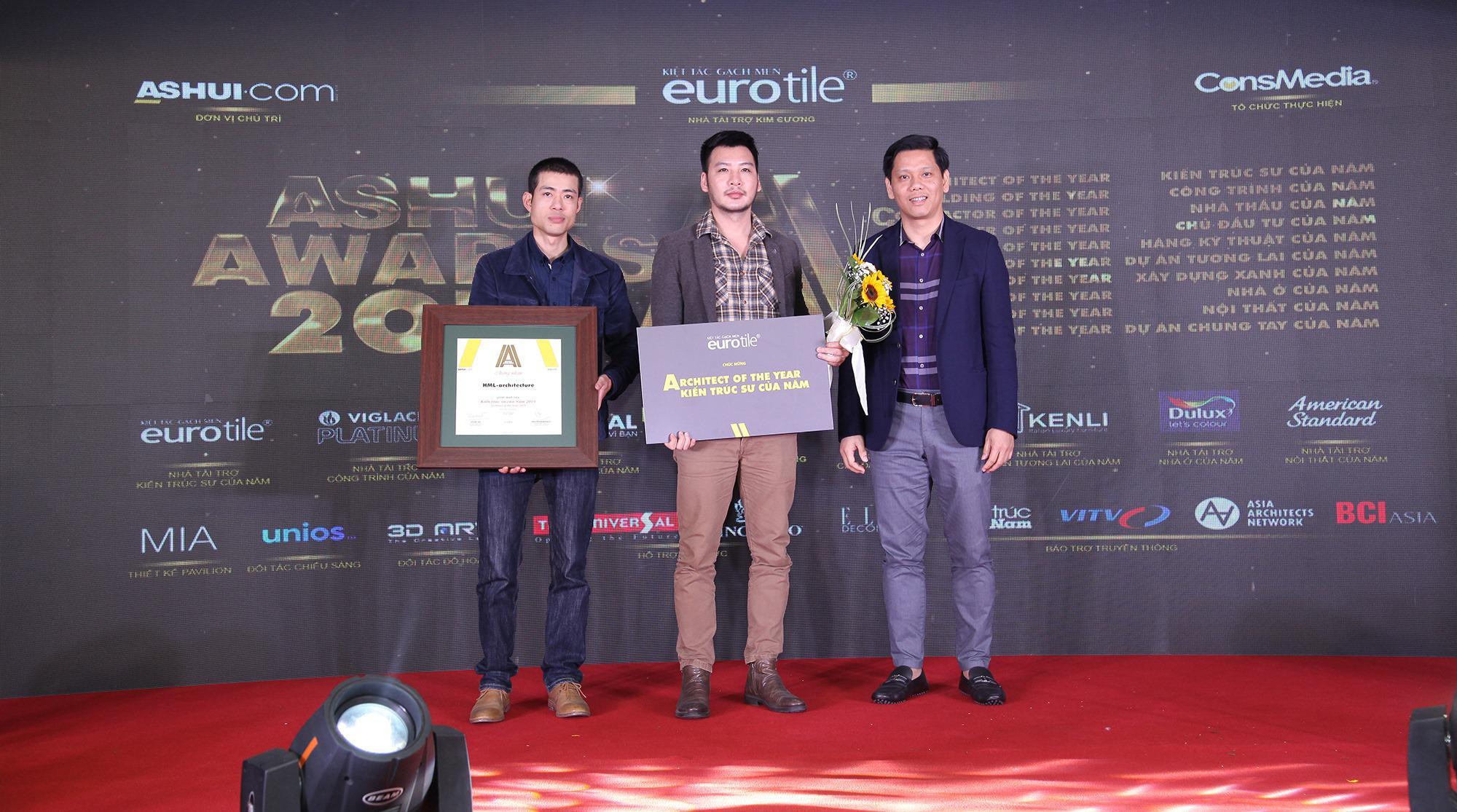 Eurotile đồng hành cùng Ashui Awards 2019
