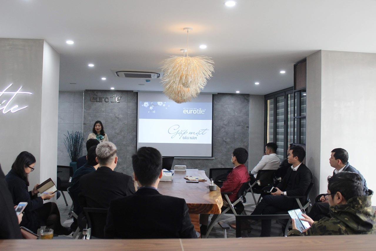 Eurotile đón Kiến trúc sư trong buổi gặp mặt đầu xuân tại Hà Nội