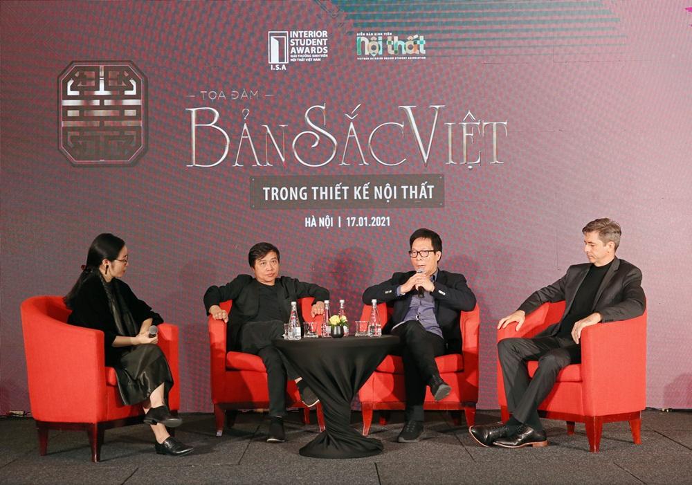 """Tọa đàm """"Bản sắc Việt trong thiết kế nội thất"""" và Gala trao giải thưởng Sinh viên Nội thất Việt Nam"""
