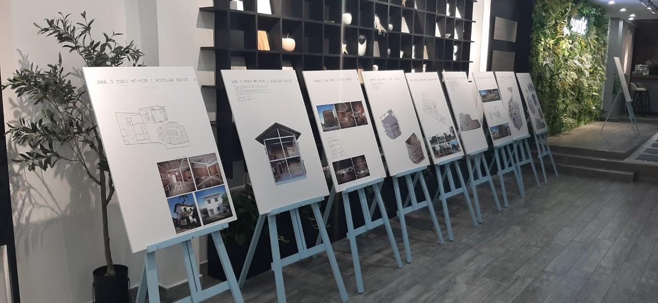 Triển lãm H&P Architects tại Eurotile Center Đà Nẵng