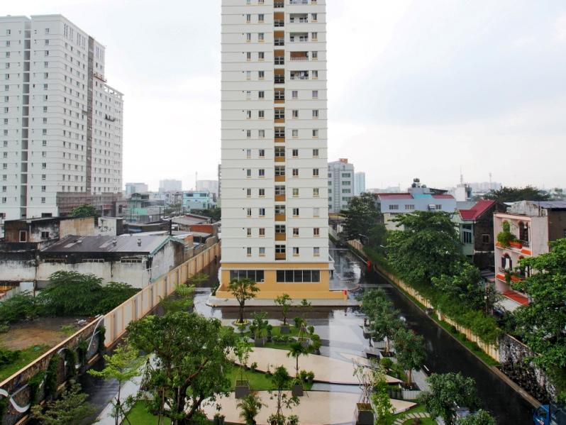 Tòa nhà Sen xanh - Lotus Garden