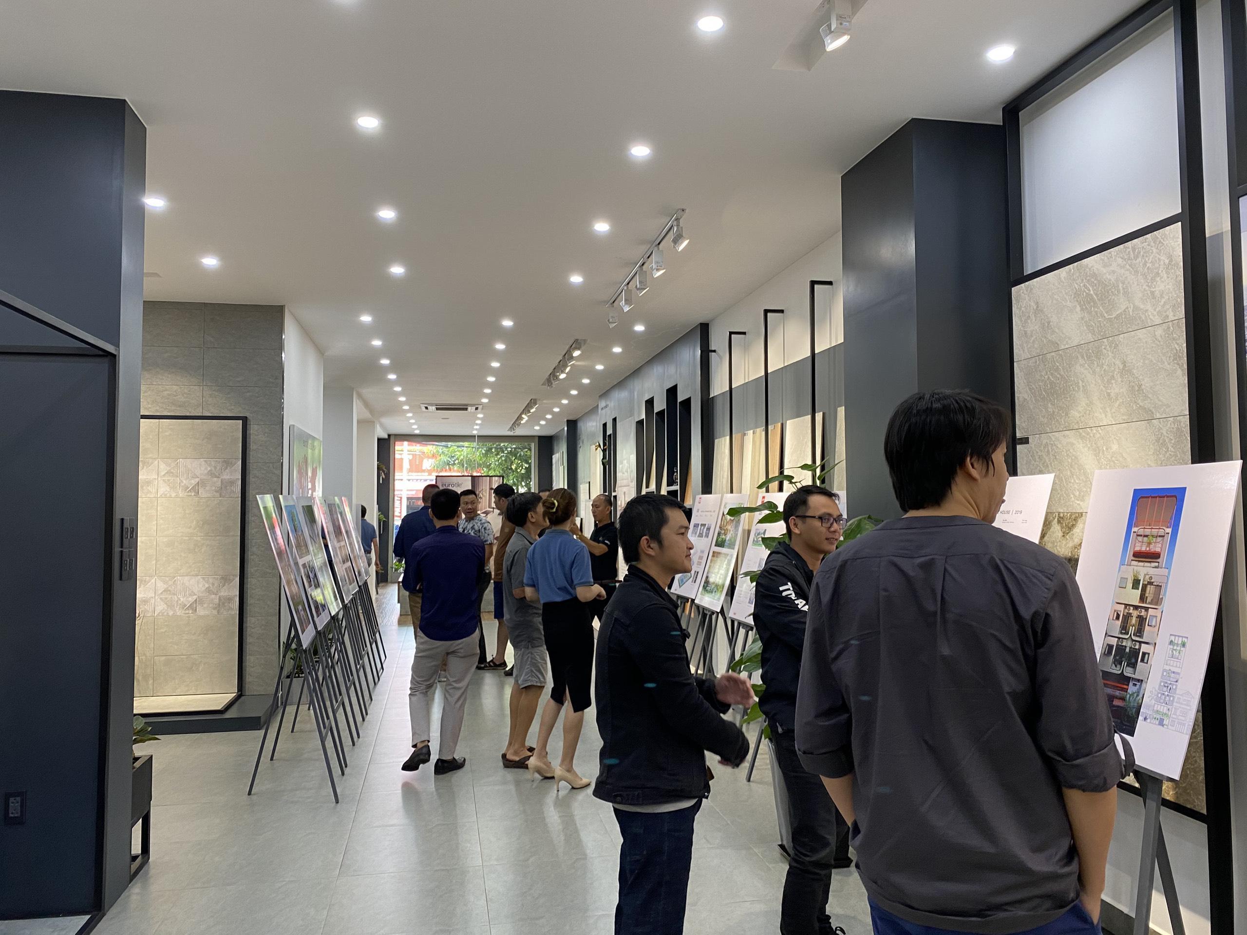 Triển lãm kiến trúc của VUUV Architecture Office tại Eurotile Center Đắk Lắk