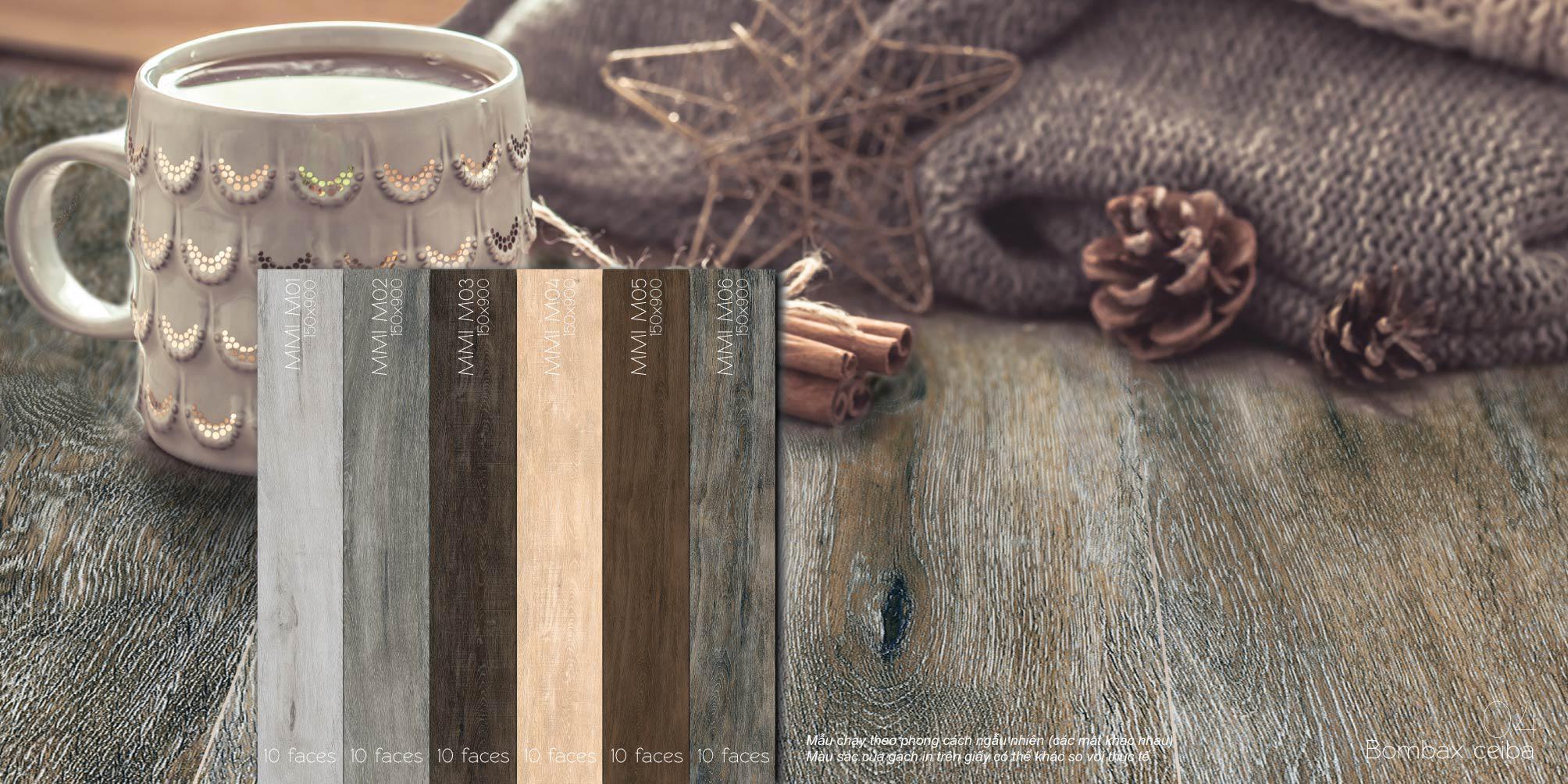 Những BST gạch ốp lát họa tiết vân gỗ của Eurotile